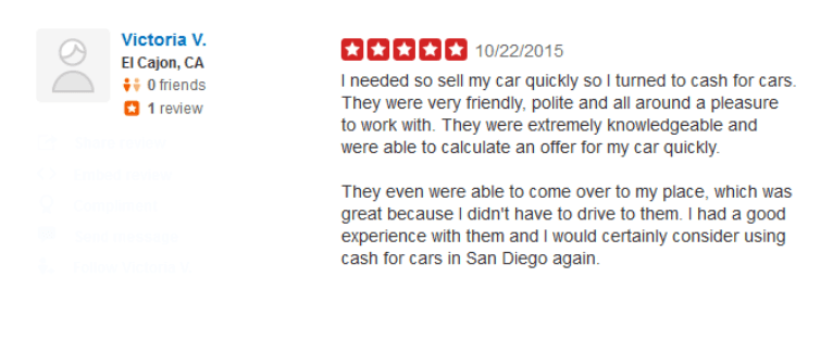 Cash For Cars San Diego >> Cash For Cars San Diego Running Or Not 858 346 7655